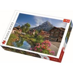 Alps in the summer / Trefl - 2000 pcs - Legpuzzel