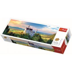 Panorama - Slot Neuschwanstein, 1000 stukjes - Legpuzzel