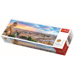 Panorama - Cathedral of Notre-Dame de Paris - 1000 stukjes - Legpuzzel