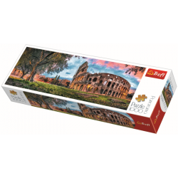 Panorama - Colosseum at dawn / Trefl - 1000 pcs - Legpuzzel