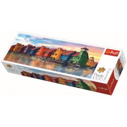 Panorama - Groningen, Netherlands - 1000 stukjes - Legpuzzel
