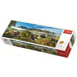 Panorama - By the Schliersee lake / Trefl - 1000 pcs - Legpuzzel