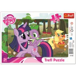 Framepuzzel  - My Little Pony, 15 stukjes - Puzzel
