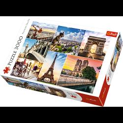 Parijs, 3000 stukjes - Puzzel