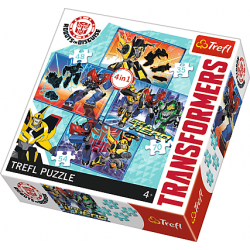 4 in1 - Transformers - Puzzel