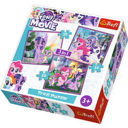 3 in 1 - My Little Pony - Puzzel