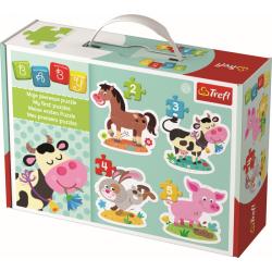 Baby Classic Puzzel - Boerderijdieren - Legpuzzel