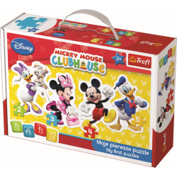 Baby Classic Puzzel - Mickey Mouse Club House - Legpuzzel