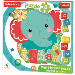 Baby Fun - Little elephant / Mattel Fisher Price - Legpuzzel