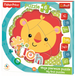Baby Fun -Lion cub / Mattel Fisher Price - Legpuzzel