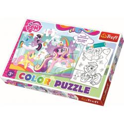 Color Puzzel - My Little Pony, 20 stukjes - Puzzel