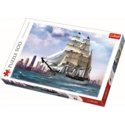 Sailing against Chicago, 500 stukjes - Puzzel