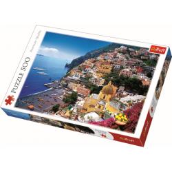 Positano, Italië, 500 stukjes - Puzzel