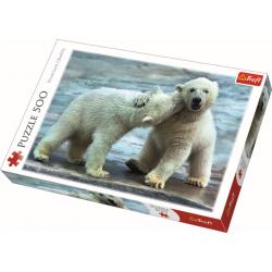 Polar bears   / Trefl - 500 pcs - Legpuzzel