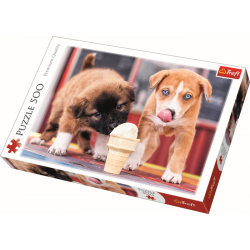 Ice cream time!   / Trefl - 500 pcs - Legpuzzel