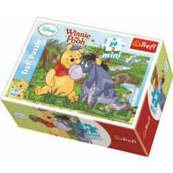 Mini - Summer in the One Hundred Acre Picture 2 - 54 pcs - Legpuzzel