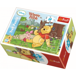 Mini - Summer in the One Hundred Acre Picture 3 - 54 pcs - Legpuzzel