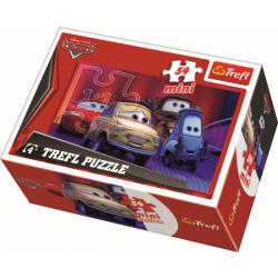 Mini - Cars 2 / Disney Cars Picture 1 - 54 pcs - Legpuzzel