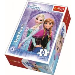 Mini - In the Frozen Land / Disney Frozen Picture 1 - 54 pcs - Legpuzzel