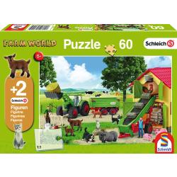 Hooitijd op de boerderij, 60 stukjes - Puzzel
