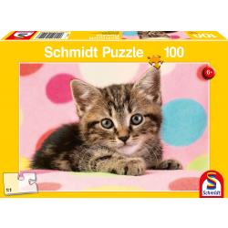 Cute Kitten, 100 stukjes - Puzzel