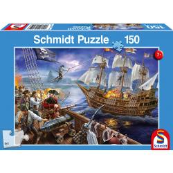 Piraten Avontuur, 150 stukjes - Puzzel