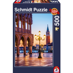 An Evening at the Piazzetta Venice,  500 stukjes - Legpuzzel