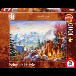 Ice Age!, 1000 stukjes - Legpuzzel