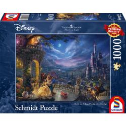 Disney Beauty and the Beast, 1000 stukjes - Puzzel