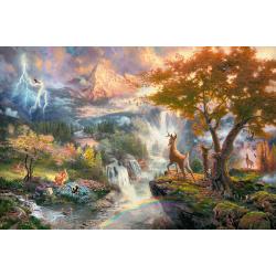Disney Bambi, 1000 stukjes - Legpuzzel