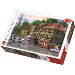 Straten van Parijs, 6000 stukjes - Puzzel