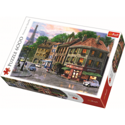 Street of Paris / Trefl - 6000 pcs - Legpuzzel