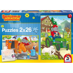 Benjamin in Action 2x26 pcs