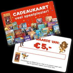 999 Games cadeaukaart 5 euro