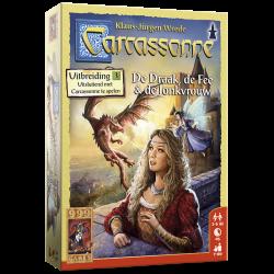 Carcassonne Uitbreiding De Draak De Fee & de Jonkvrouw-nieuw