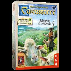Carcassonne: Schapen & Heuvels - Bordspel