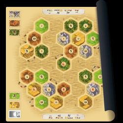Catan Desert mat