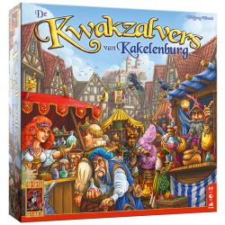 De Kwakzalvers van Kakelenburg - Kaartspel