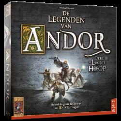 De Legenden van Andor: De laatste Hoop - Bordspel
