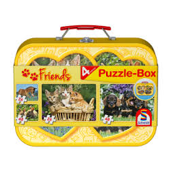 Domestic Animals Puzzle-Box 2x26 2x48 pcs