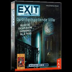 EXIT - De Onheilspellende Villa - Bordspel