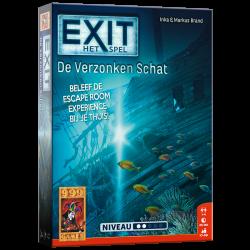 EXIT - De Verzonken Schat - Bordspel
