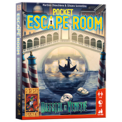 Pocket Escape Room: Diefstal in Venetië - Kaartspel