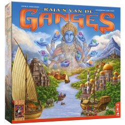 Raja's van de Ganges - Bordspel