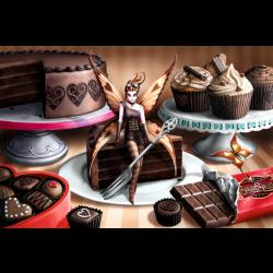 Sugar Sweet, A Dream in Chocolate, 1000 pcs