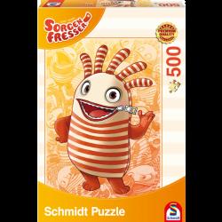 Zorgenvriendje Saggo puzzel 500 pcs