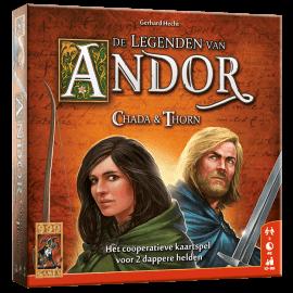 De Legenden van Andor Chada & Thorn speelmateriaal