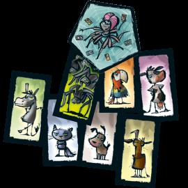 Tarantula-Tango-speelmateriaal