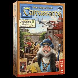 Carcassonne Uitbreiding Burgemeesters & Abdijen-nieuw