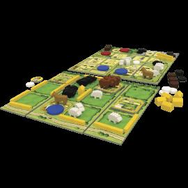 Agricola 2 speler speelmateriaal